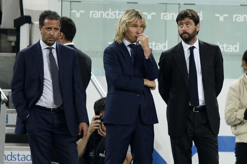 dirigenza della Juventus Agnelli
