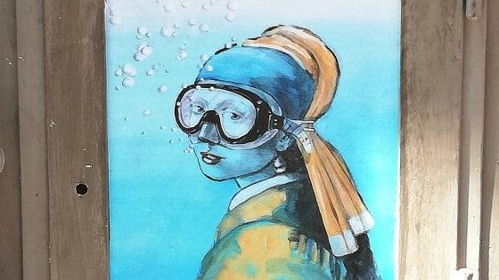 street art subacquea