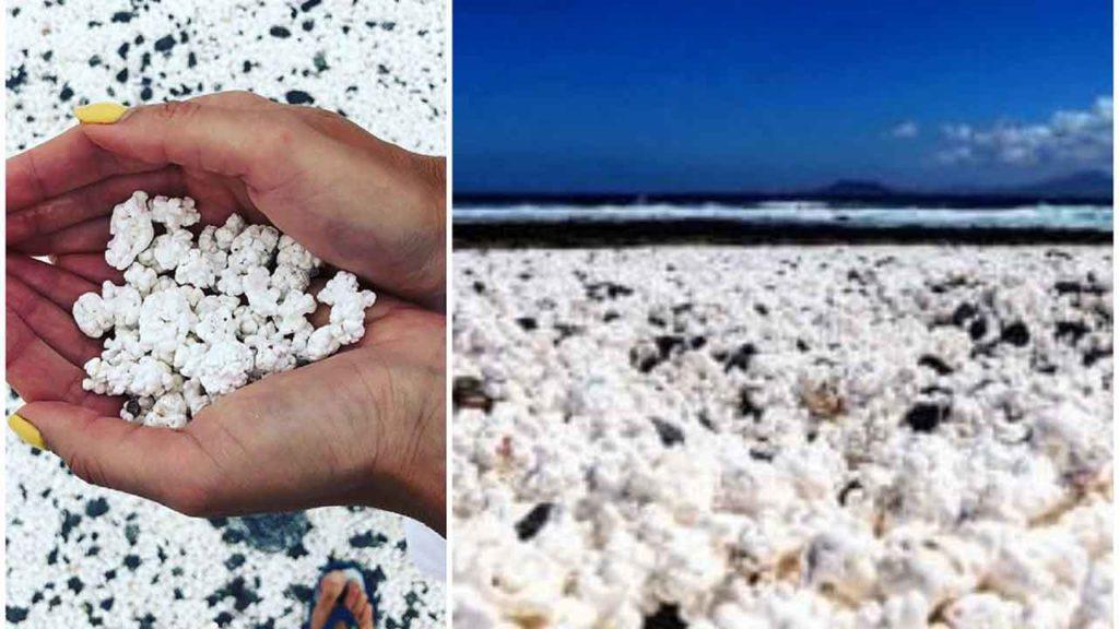 Spiaggia di popcorn