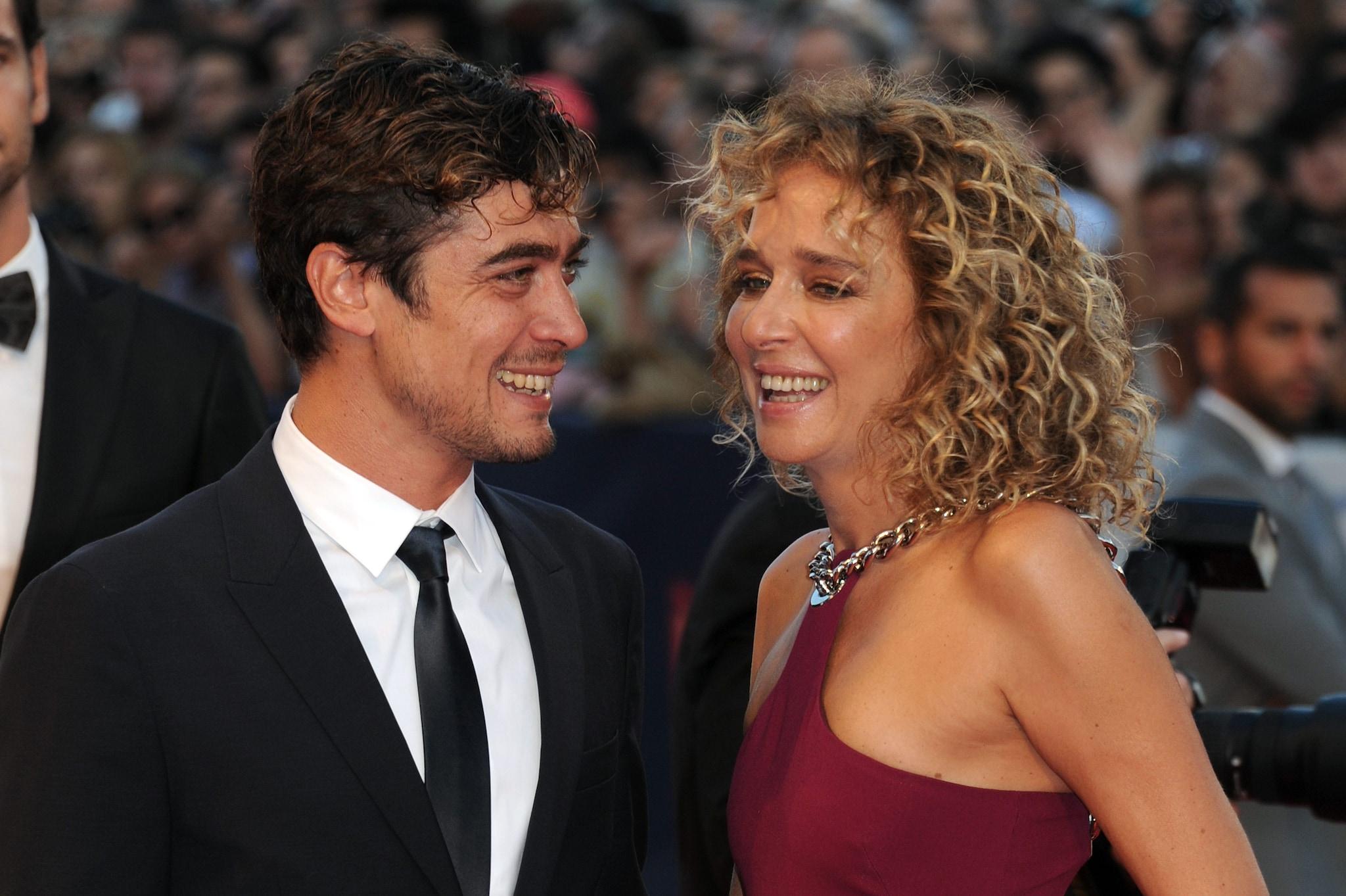 Riccardo Scamarcio e Valeria Golino al Festival del Cinema di Venezia nel 2015